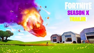 "*NEW* FORTNITE ""Season 10 TRAILER!"" HD - Breakdown & Explained Secrets!"