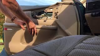 How to remove door panel on 1997 buick regal gs