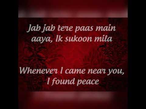 Jab Jab tere paas mein Aaya. Murder 2 lyrics