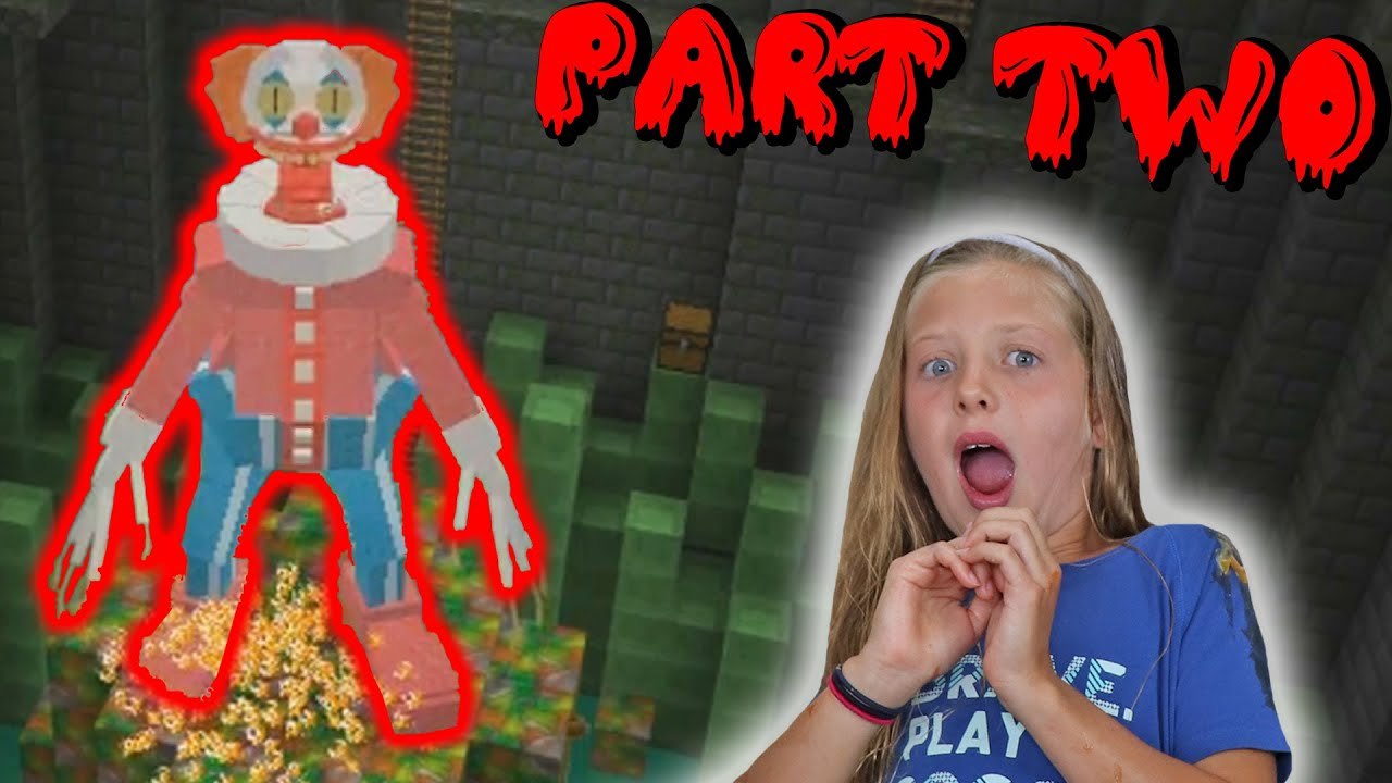 TRAPPED WITH SCARY CLOWNS!! (ft. BeckBroJack) || MARYS PUNISHMENT || (*Part 2*) || BeckBroMary