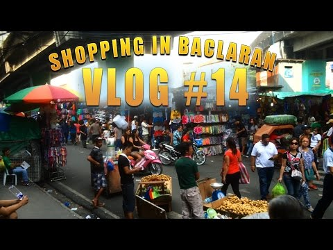 SHOPPING IN BACLARAN | METRO MANILA, PHILIPPINES | Vlogging in the Philippines