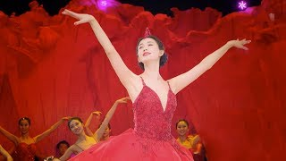Lin Zhiling appeared surprisingly in the water ballet performance