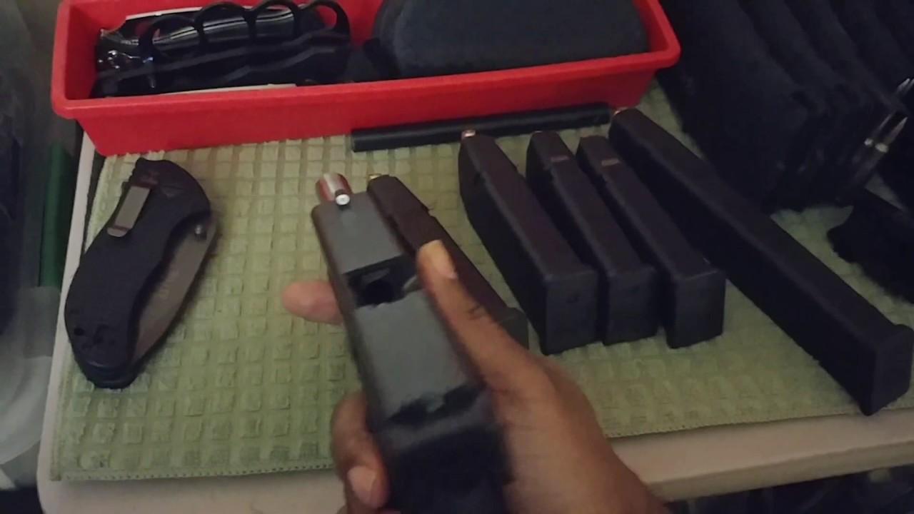 My Glock 20 gen 3 mods