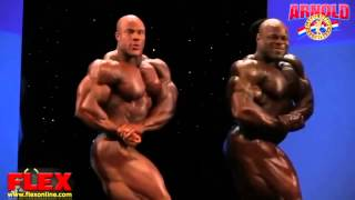 Phil Heath and Kai Greene Fight on Stage