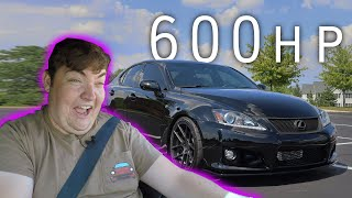 Doing Pulls In a 600hp SUPERCHARGED Lexus ISF!
