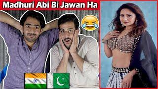 Pakistani Reaction To Madhuri Dixit Latest INSTAGRAM REELS Videos | Indian Actress