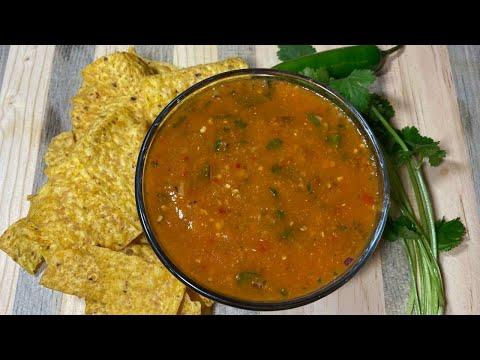 HOW TO MAKE HOMEMADE SPICY SALSA | STEP BY STEP |