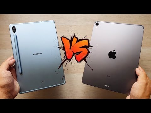 Samsung GALAXY TAB S6 Vs Apple IPAD PRO, ¿Cuál Comprar?