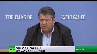 TTIP talks between EU & US have de facto failed – German economy minister