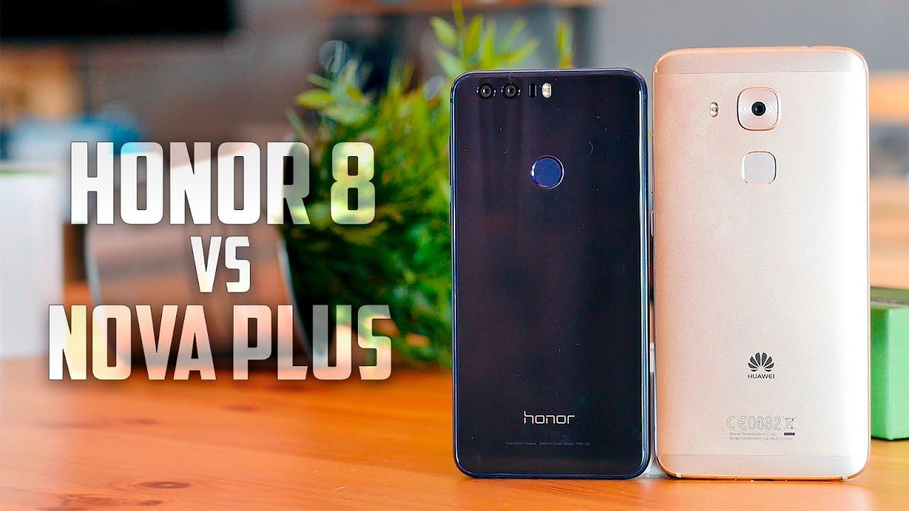 Using Honour Vs Honor: Honor 8 Vs Huawei Nova Plus