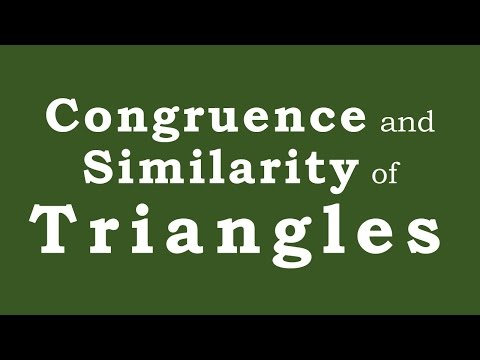 eMath: Congruence and Similarity of Triangles