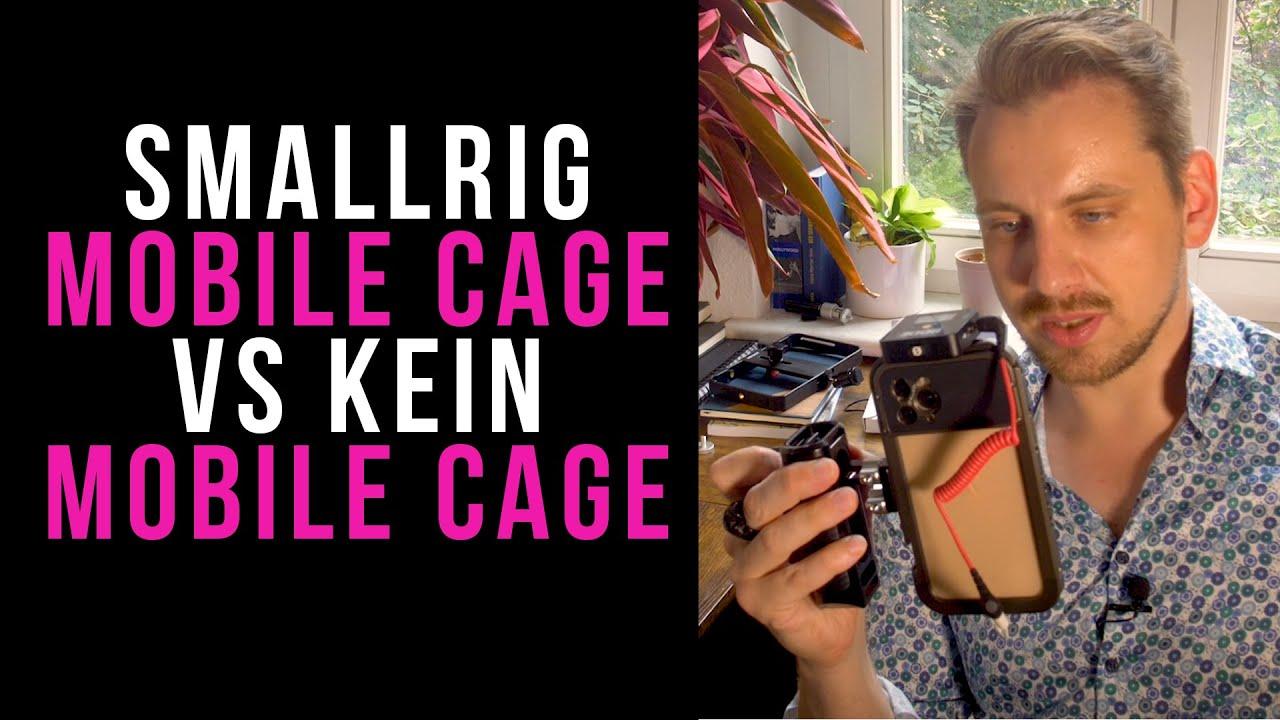 SmallRig Pro Mobile Cage VS kein Mobile Cage & Rode Wireless Go + Test auf der Sachsenbrücke Leipzig