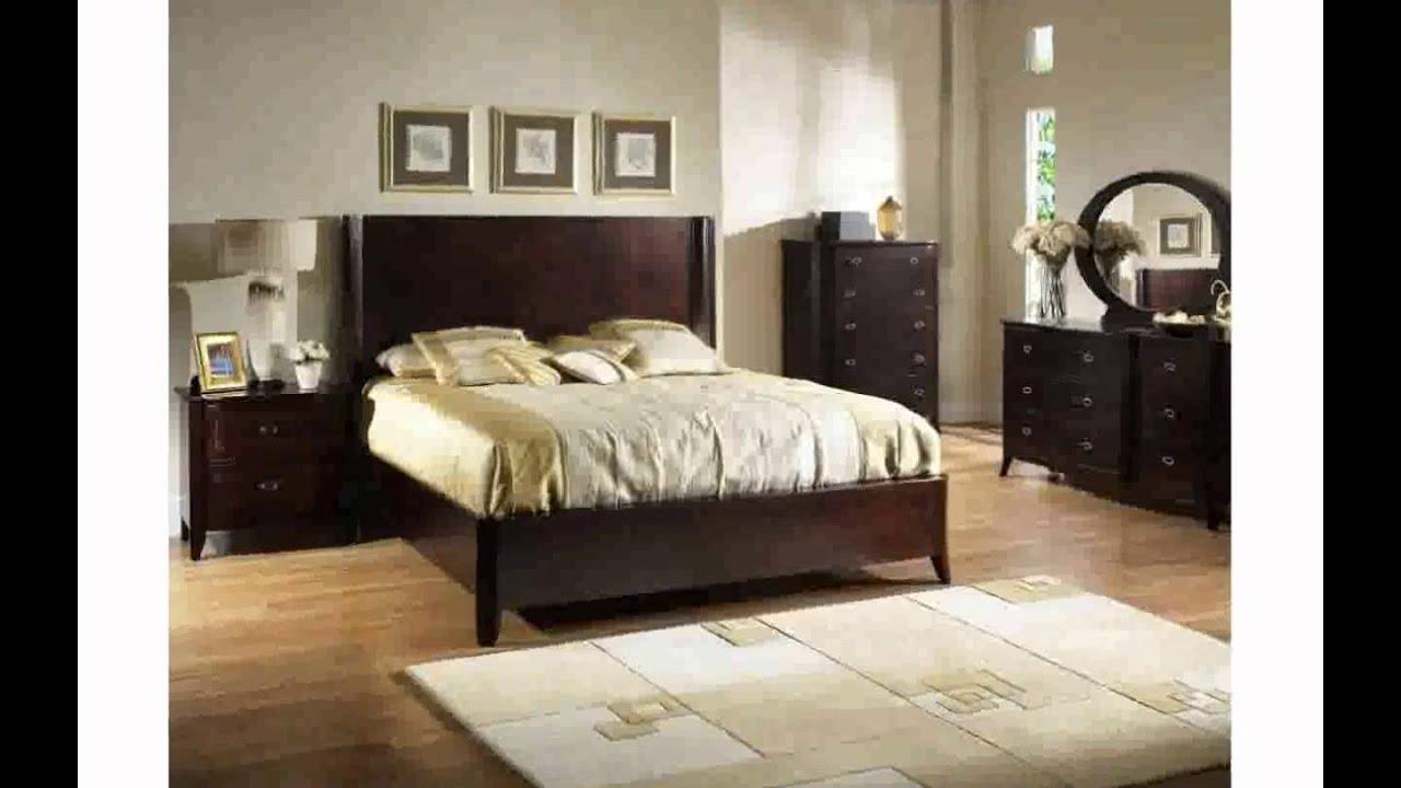 Ordinaire Dark Wood Bed