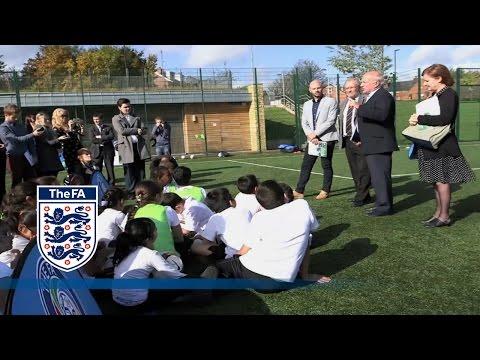 Greg Dyke on revolutionising grassroots facilities | FATV News