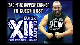 DCW | ZAC CONNER RETURNS TO HOST GUTS AND GLORY XII! (April 25, 2015)