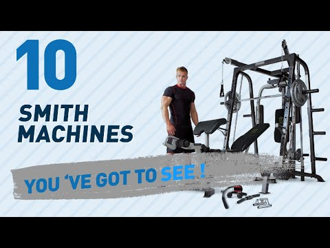 Strength Training Equipment - Smith Machines // Amazon UK Most Popular