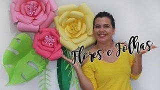 Painel de Flores de Papel – Faça você mesma