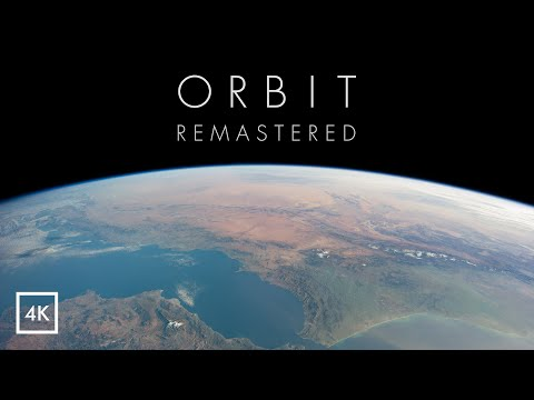 ORBIT - A Journey Around Earth in Real Time [ 4K Remastered ]
