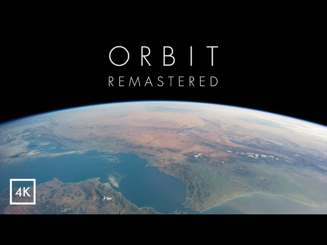 ORBIT - Journey Around Earth in Real Time | 4K Remastered