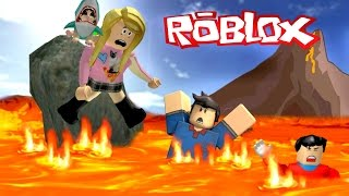 THIS VILLAGE LIVES UNDER A VOLCANO!! | Roblox Roleplay Pokemon Brick Bronze #3