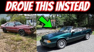 I tried to Buy this Foxbody for $500... It didn't work out