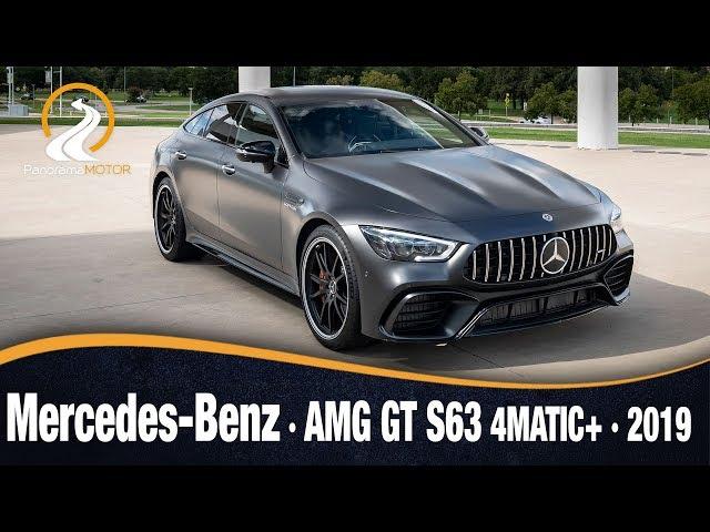 Mercedes-Benz AMG GT S63 4MATIC+ 2019 | Información Review Español