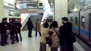 東北地方太平洋沖地震 小田急新宿駅 2011/3/11
