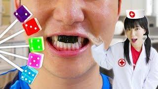 치과놀이 인기 동요 놀이 Candy Nursery Rhymes Song for kids songs & children