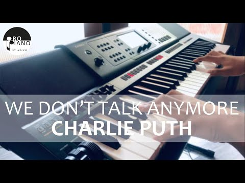 Charlie Puth – We Don't Talk Anymore (feat. Selena Gomez) | Keyboard Cover by Pro Piano