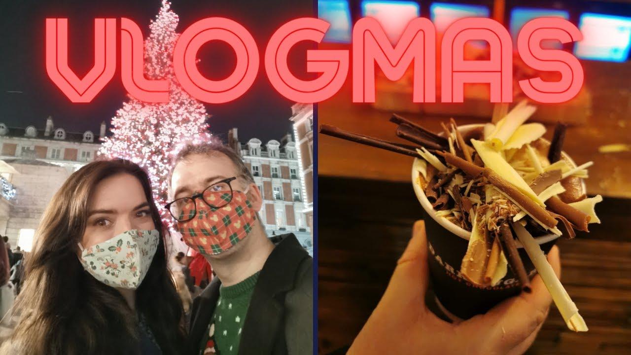 Not So Daily Vlogmas #3 | Our Festive London Trip is cut short! | Krispysmore 2020