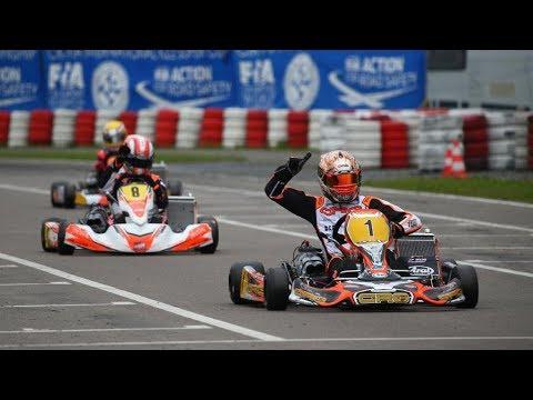 World Champion Kart driver 2016 - 2017 - Paolo De Conto - CRG Kart