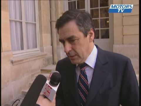 Interview François Fillon Sébastien Loeb