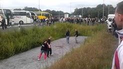 Dominator-treffen 2011 der deutschen Busse - Venlo Parkplatz