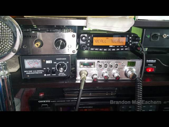 MH-48 Mic on TYT TH-9800 Transceiver