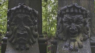 Шедевры Смоленского православного кладбища: красивые и выдающиеся надгробия прошлых веков.