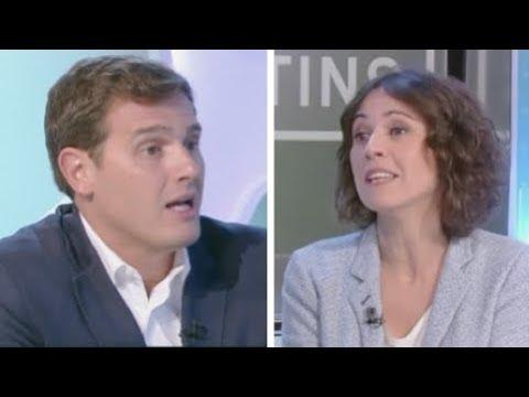 Rivera se harta de TV3 y destroza a una periodista