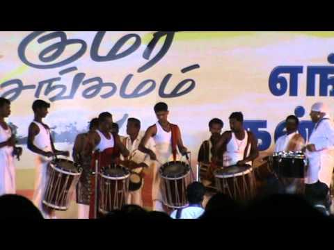 Kumarisangamam Drumsmani performance