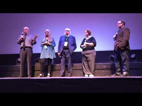"""Post show Q&A of """"Night Of The Living Dead"""" 4k Screening at Montclair Film festival"""