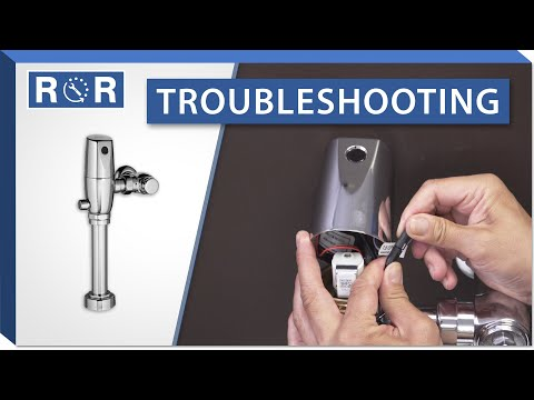 Troubleshooting An American Standard Selectronic Flushometer | Repair And Replace