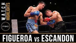 Figueroa vs Escandon Highlights: September 30, 2018 - PBC on FS1