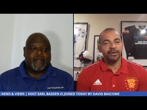 Live Video: BNV Sports Host Earl Basden is joined by football coach David Bascome