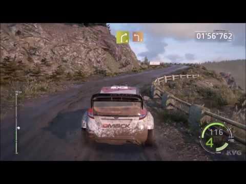 WRC 6 FIA World Rally Championship - Dayinsure Wales Rally GB | Gameplay (PC HD) [1080p60FPS]
