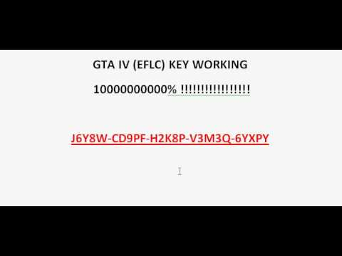 gta iv episodes from liberty city pc serial key