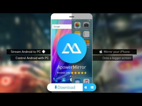 How to Use ApowerMirror Android Device , iPhone Device