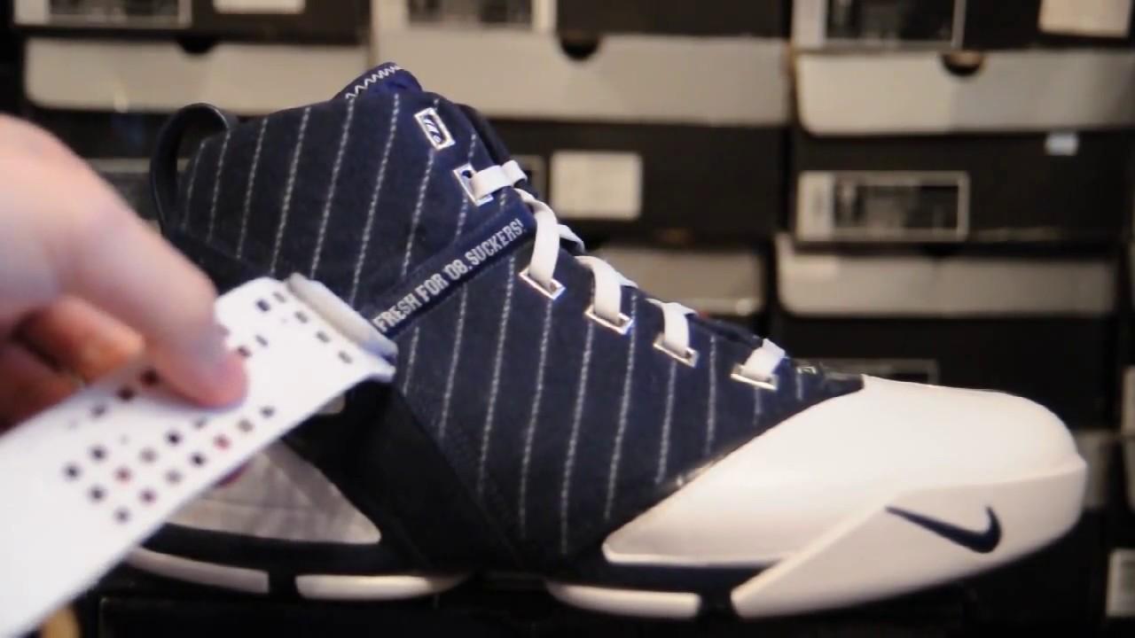 34bff8c2a641 2008 Nike Zoom LeBron 5 (V)   Yankees   - YouTube