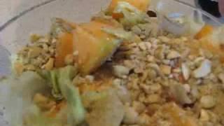 Cantaloupe Salad Recipe By Sfehmi