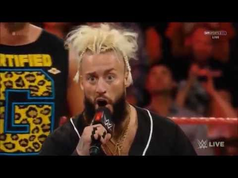 Enzo Amore and Big Cass entrance (Raw 2016-09-12)