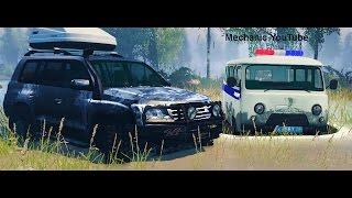 Полицейская Погоня за Land Cruiser 200  - Spintires
