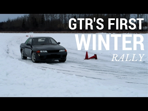 Rally Racing the Skyline GTR for the first time WITH CRASH!!