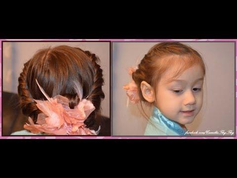 Camilla ThyThy - Đồng An: Kiểu tóc tết đáng yêu mùa hè
